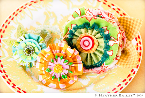 Behold The Beautiful Fabric Flower