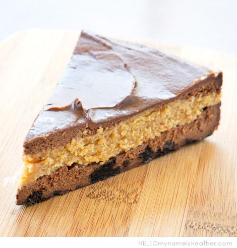 PeanutButterChocolateCheesecake