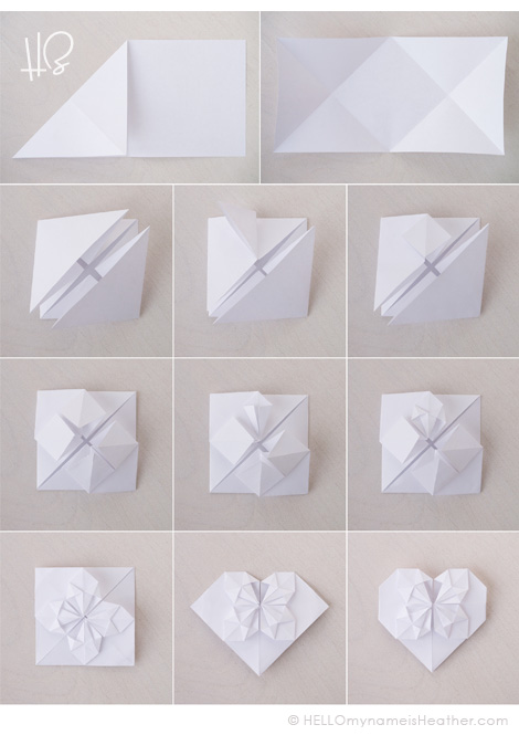 HeatherBailey_OrigamiHeartPaperValentine