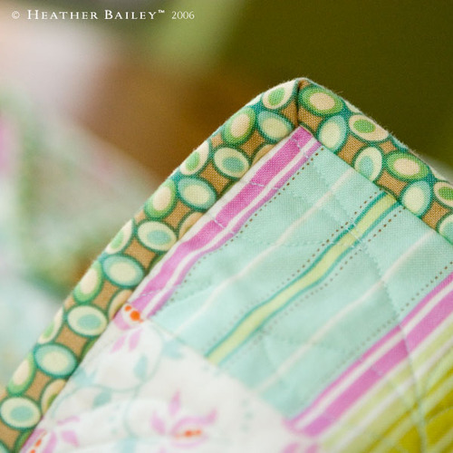 Continuous Quilt-Binding: